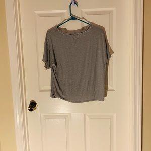 """American Eagle """"Kale No"""" Pocket Shirt"""